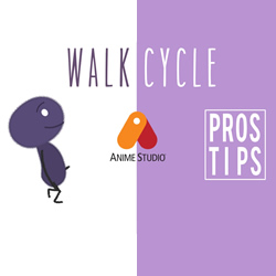 Pros Tip Walk Cycle