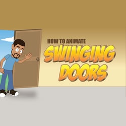 Animate Swinging Doors in Anime Studio