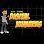 Animate Digital Numbers