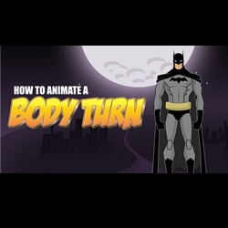 Animate A Body Turn In Anime Studio