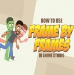 Using frame by frame animation in Anime Studio