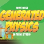 How to use physics in Anime Studio