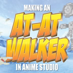 How to make and rig an AT-AT in Anime Studio