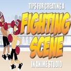 Fighting Scene in Anime Studio