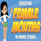 Female Mouths in Anime Studio