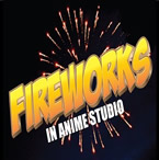 Fireworks in Anime Studio