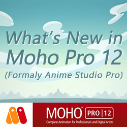 New in Moho Pro 12 (Anime Studio)