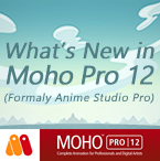 New in Moho Pro 12 (Anime Studio)