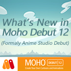 Moho Debut 12 (Anime Studio) New Features