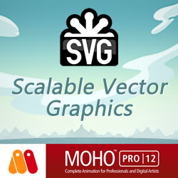 SVG Vector Graphic Import and Export Moho 12
