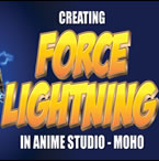 How to make force lightning in Moho (Anime Studio)