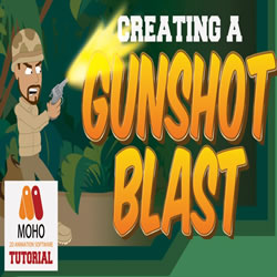 Creating a Gunshot / Muzzle Blast in Moho