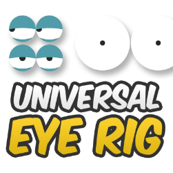 How to create a UNIVERSAL eye rig