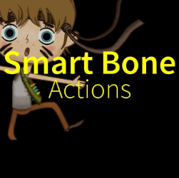Smart Bone Actions in Moho (Anime Studio)
