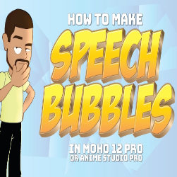 How to make speech or talk bubbles