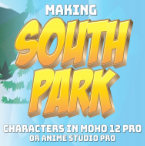 Making South Park Characters in Moho