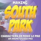 Making South Park Characters in Moho Part 2
