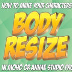 How to use a smart bone to resize your character