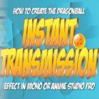 Dragonball Instant Transmission (Teleport) effect