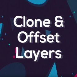 Clone & Offset Layers - Free Tool by Mynd