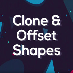 Clone & Offset Shape - Tool for Moho Pro by Mynd