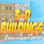 3D buildings in Anime Studio Pro or MOHO pro 12
