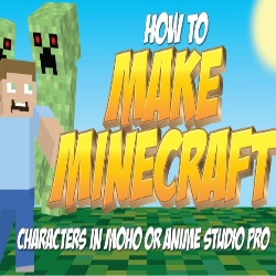 How to make a Minecraft character