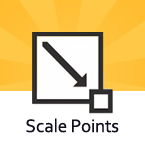 Scale Points Tool