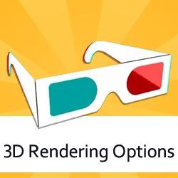 3D Rendering Options