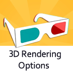 3D Rendering Options