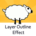 Layer Outline Effect